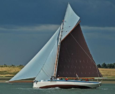 Aldous 45 ft Oyster smack CK 318 1885 All Boats