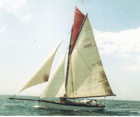1898 west country gaff cutter  1 1898 West Country gaff cutter