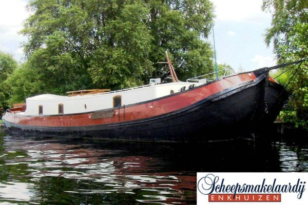 Tjalk in good condition with bow thruster 1902 All Boats