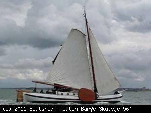 Dutch Barge Skutsje 56' 1907 All Boats