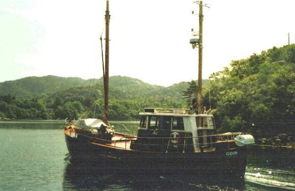 Norwegian Schooner Motor Sailer 1915 Schooner Boats for Sale