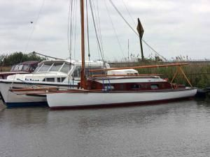 Broads traditional sailing yacht 1920 All Boats