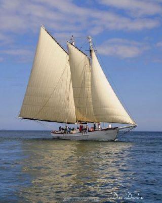 1923 Classic American Passenger Schooner Boats Yachts