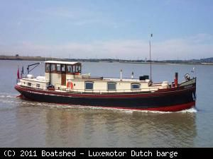 Luxemotor Dutch barge 1923 All Boats