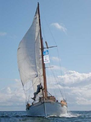 1924 colin archer style motor sailer ketch  10 1924 Colin Archer Style Motor Sailer Ketch