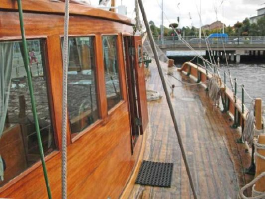1924 colin archer style motor sailer ketch  15 1924 Colin Archer Style Motor Sailer Ketch