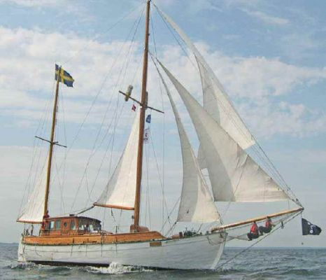 1924 colin archer style motor sailer ketch  2 1924 Colin Archer Style Motor Sailer Ketch