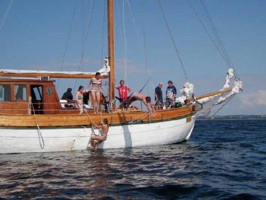 1924 colin archer style motor sailer ketch  23 1924 Colin Archer Style Motor Sailer Ketch