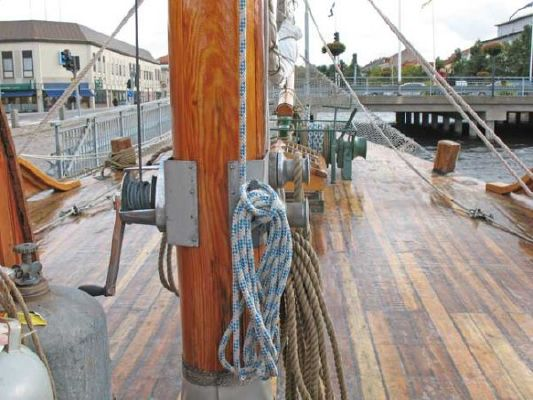1924 colin archer style motor sailer ketch  6 1924 Colin Archer Style Motor Sailer Ketch