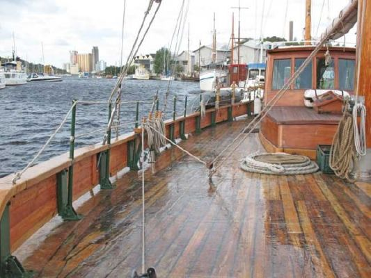 1924 colin archer style motor sailer ketch  8 1924 Colin Archer Style Motor Sailer Ketch