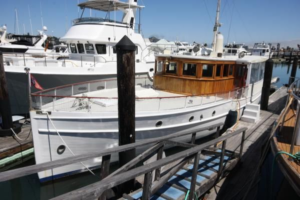 Broadway classic fantail motoryacht 1926 All Boats