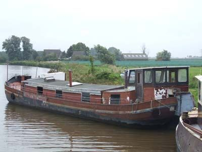 Barge, Steilsteven casco New hull, ready for conversion 1929 Sailboats for Sale