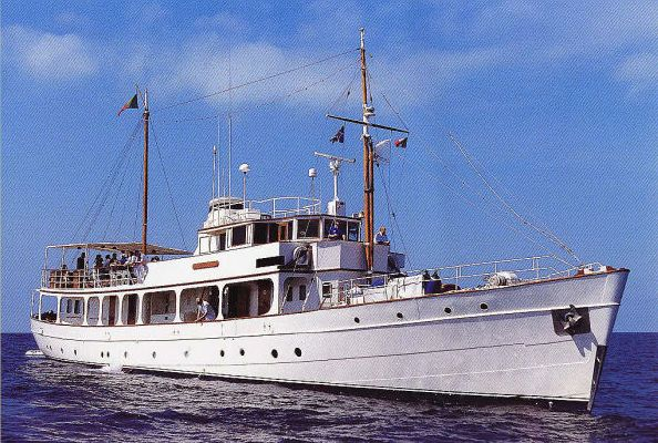 1930 classic motor yacht boats yachts for sale for Vintage motor yachts for sale