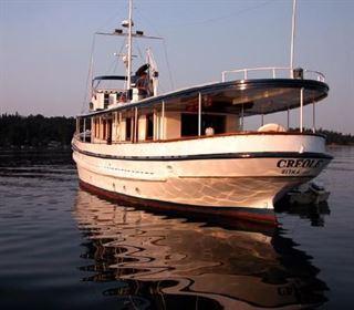1930 Lake Washington Ship Yard Classic Fantail Long Range Cruiser Boat