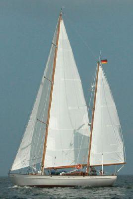 Deutsche Werke Custom Steel Canoe Stern Ketch 1932 Ketch Boats for Sale
