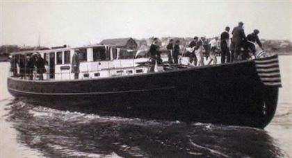 1932 john waynes first yacht  48 1932 John Waynes First Yacht
