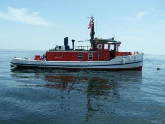 Chester Crosby & Sons Tug Motoryacht 1937 Tug Boats for Sale