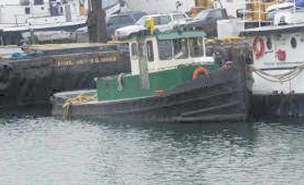 Steel Model Bow Tug (Rebuilt) 1938 Tug Boats for Sale