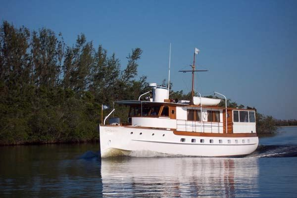 Trumpy Mathis Classic Houseboat 1938 Houseboats for Sale