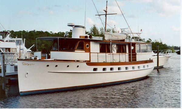 1938 trumpy mathis classic houseboat