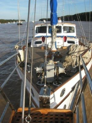 Ortholan Argentina Classic Motorsailer Ketch 1939 Ketch Boats for Sale Sailboats for Sale