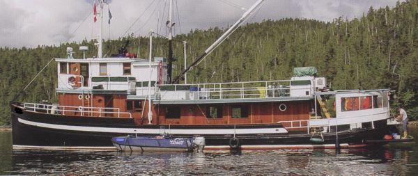 ARMSTRONG BROS. Tug / Eco Tour / Fishing Lodge 1942 Tug Boats for Sale