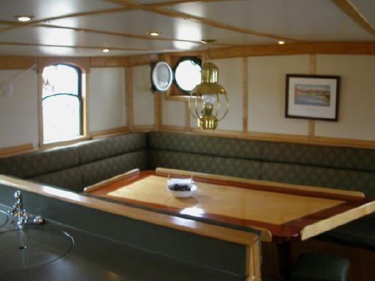 Tallship Topsail Gaff Rigged Schooner Tallship 1947 Schooner Boats for Sale