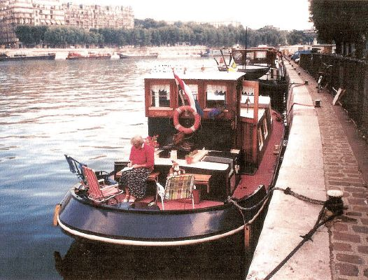De Vries canal barge 1950 All Boats