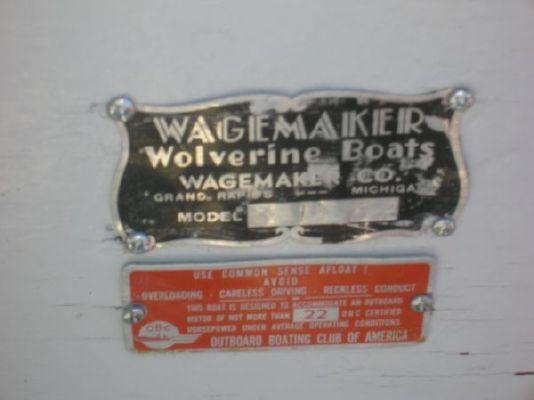 1952 wagemaker wolverine  8 1952 Wagemaker Wolverine