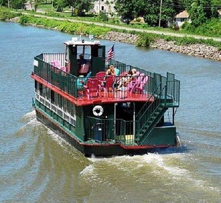 1953 1953 2002 50 Steel Erie Canal Dinner Amp Boat Boat