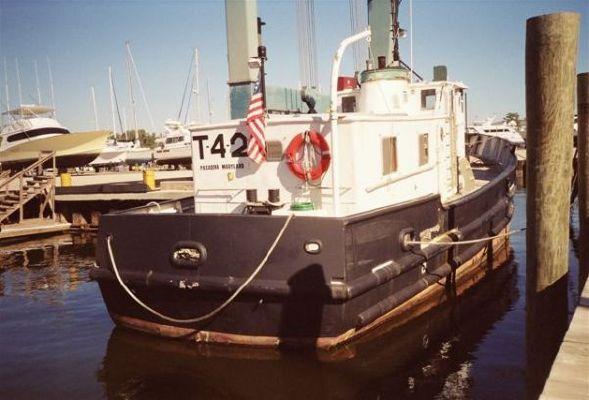 1953 Higgins Trawler Us Army T Boat Yacht Conversion