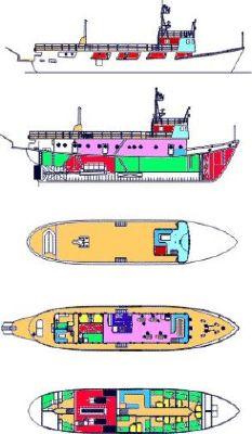 M/Y Navetta Gdansk (Poland) Motorship 1953 All Boats