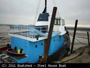 Steel House Boat 1953 All Boats