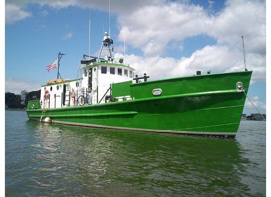 1953 Us Army T Boat Higgins Utility Cargo Transport Yacht