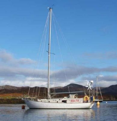 Morgan Giles Classic Long Keel Sloop 1955 Sloop Boats For Sale