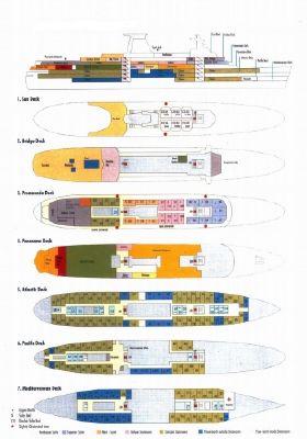 PASSENGER SHIP 530 PAX 162m 1955 All Boats