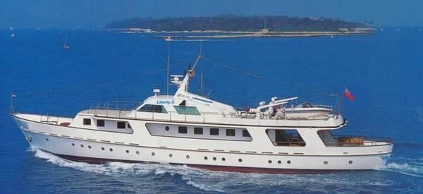 1955 picchiotti 121 classic motor yacht boats yachts for for Vintage motor yachts for sale