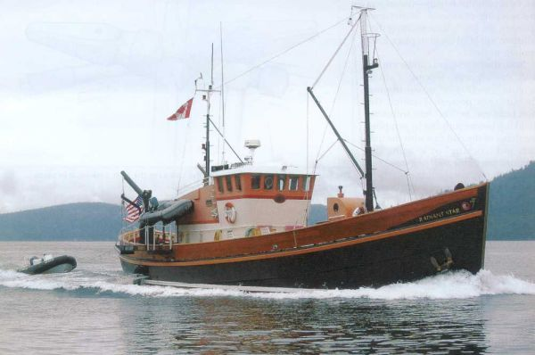 1956 jg forbes boat yard north sea trawler  1 1956 J&G Forbes Boat Yard North Sea Trawler