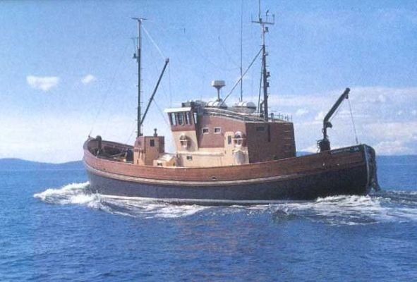 1956 J&G Forbes Boat Yard North Sea Trawler - Boats Yachts ...