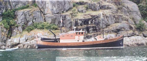 1956 jg forbes boat yard north sea trawler  43 1956 J&G Forbes Boat Yard North Sea Trawler