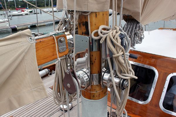 Laurent Giles 60 ft Bermudan Cutter 1956 Sailboats for Sale
