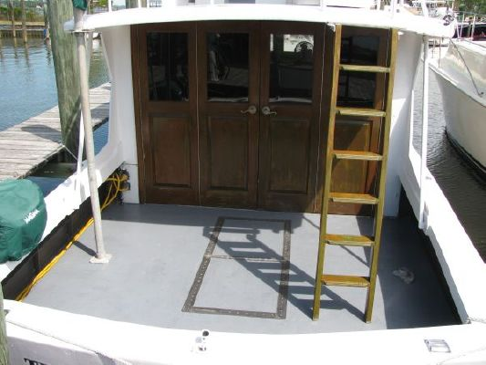 Steel Trawler Flush Deck 1956 Trawler Boats for Sale