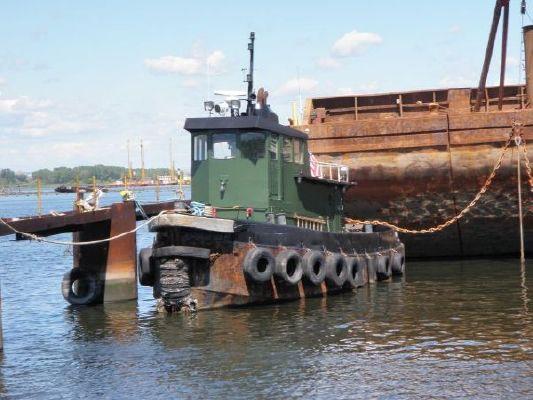 Steel Single Screw Tugboat /500 hp 1958 1958 56' Tug Boats for Sale
