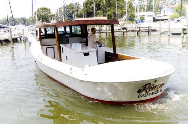 Chesapeake Deadrise 38 Roundstern Custom Hardtop 1959 All Boats