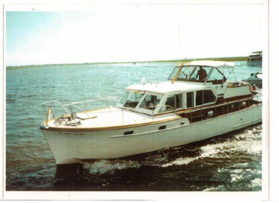Carl Matthews Double Cabin Flybridge Cruiser 1960 Flybridge Boats for Sale