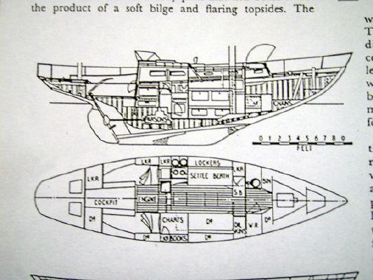 1960 kim holman upham built rummer class bermudan yawl 1960  15 1960 Kim Holman Upham built Rummer Class Bermudan yawl 1960