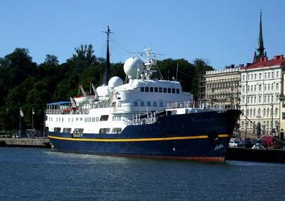 Trondheims Mek Cruise Ship 1960 All Boats