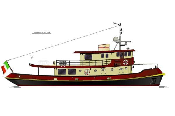 Solimano Tugboat 1962 Tug Boats for Sale