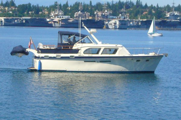 Hatteras Double Cabin 41 Classic 1963 Hatteras Boats for Sale