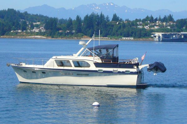 1963 Hatteras Double Cabin 41 Classic Boats Yachts For Sale